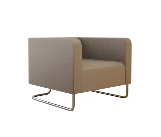 Hi&Lo Single Sofa by Nurus | Lounge chairs