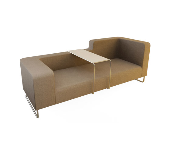 Hi&Lo Double Sofa de Nurus | Sofás lounge
