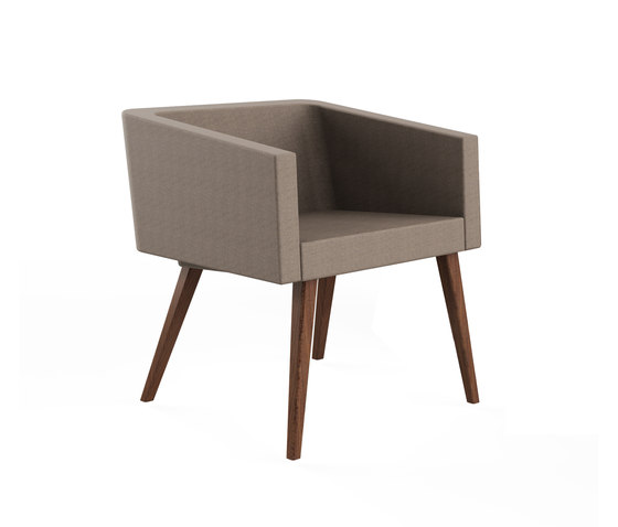 Tara Single Sofa de Nurus | Fauteuils d'attente