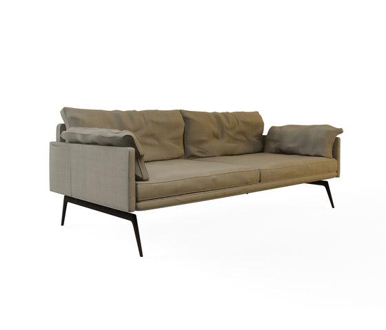 Tan Double Sofa by Nurus | Lounge sofas
