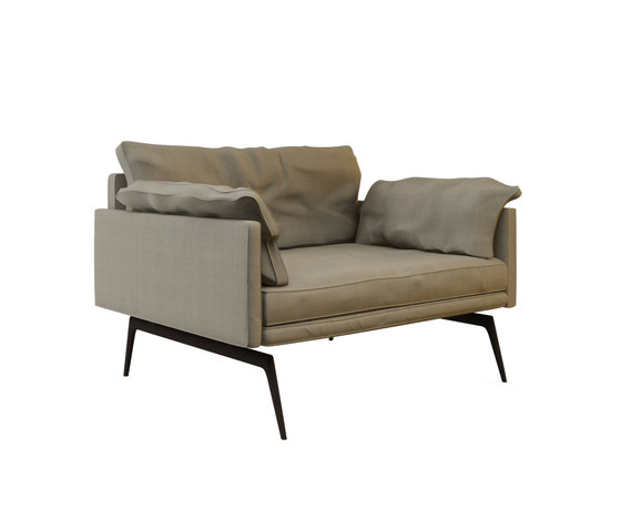 Tan Single Sofa de Nurus | Sillones lounge