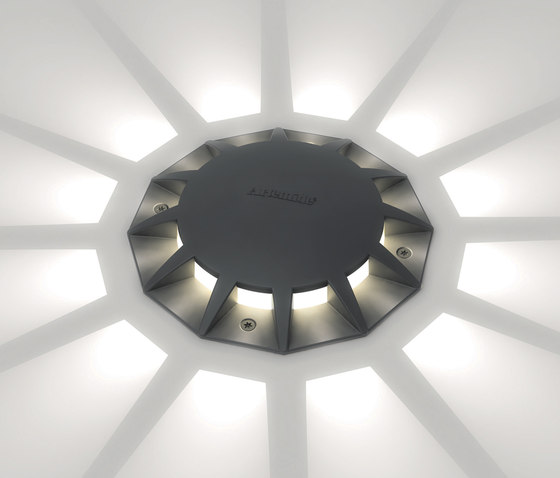 Megara 12 light beams by Artemide Outdoor   General lighting