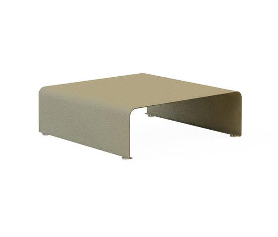 Drop 80x80 Patterned Coffee Table de Nurus | Tables basses
