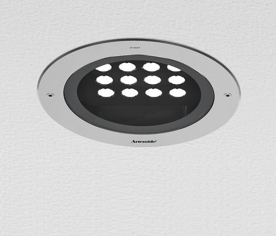 Naiade downlight round by Artemide Outdoor | General lighting