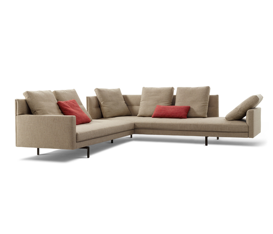 Gordon 496 sofa by Walter Knoll | Modular seating systems