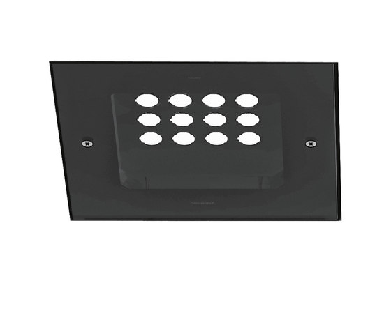 Orcamo downlight quadro di Artemide Outdoor | Illuminazione generale