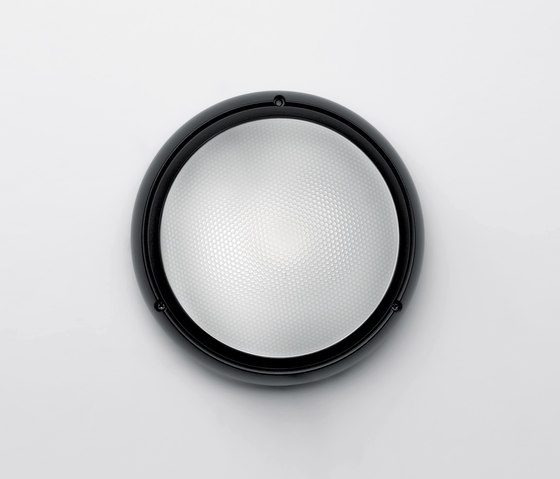 Pantarei 190 polycarbonate black by Artemide Outdoor | General lighting