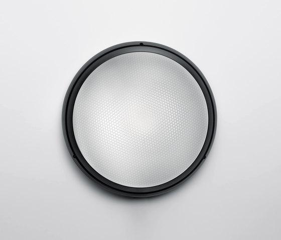 Pantarei 300 polycarbonate noir de Artemide Outdoor | Éclairage général