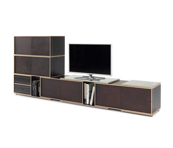 xilobis-Module System 38 de xilobis | Armoires / Commodes Hifi/TV