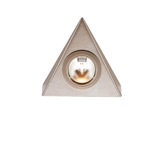 UL 1 halogen - Triangular Halogen Under-Cabinet Luminaire in Stainless Steel by Hera | Under-cabinet lights