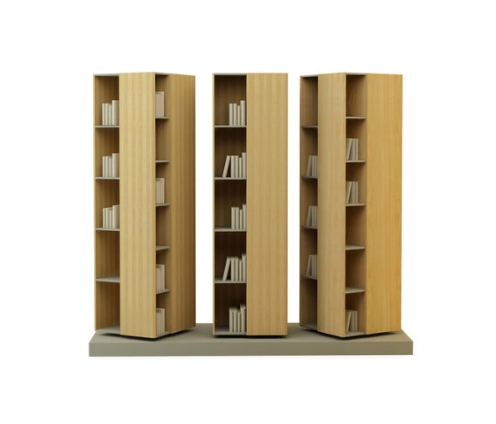Atlas H:195 Cabinet by Nurus | Library shelving systems