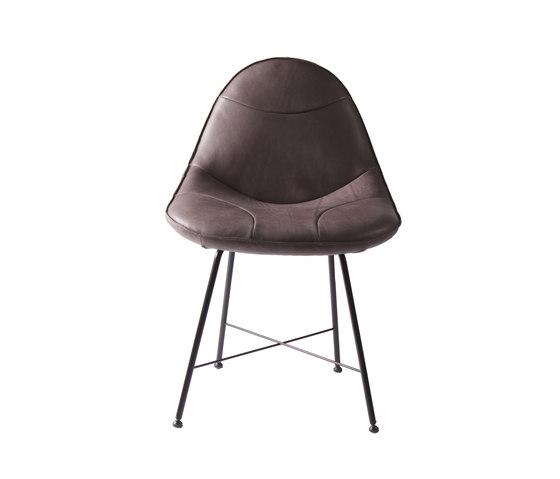 Livia chair von Label | Besucherstühle