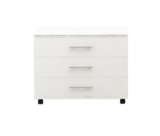 Basic Box H60 L80 Mobile Pedestal by Nurus | Sideboards