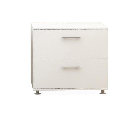 Basic Box H75 L80 Fixed Pedastal de Nurus | Aparadores