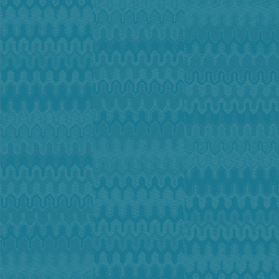 Missoni Optical Turquoise by Bolon | Wall-to-wall carpets