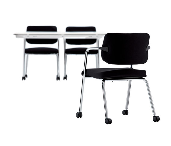 S Chair 4-Leg Visitor Chair by Nurus | Visitors chairs / Side chairs