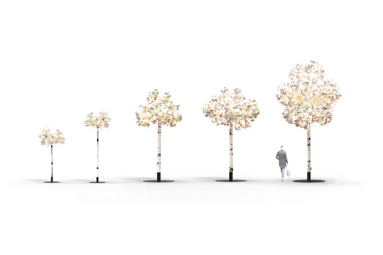 Leaf Lamp Tree 230 di Green Furniture Concept | Illuminazione generale