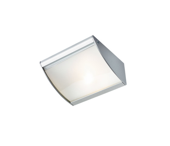 DK 3 halogen   Halogen Under-Cabinet Luminaire with Curved Glass Shade by Hera | Under-cabinet lights