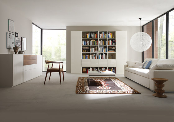 Fokus by Sudbrock | Wall storage systems
