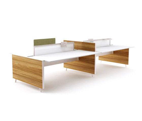 Pila Closed Desk by Nurus | Desking systems
