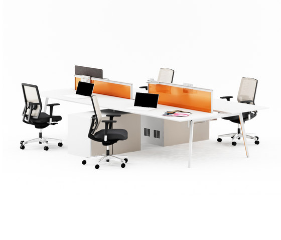 Pila Desk by Nurus | Desking systems
