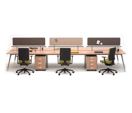 U too Six Fold Desk di Nurus | Scrivanie