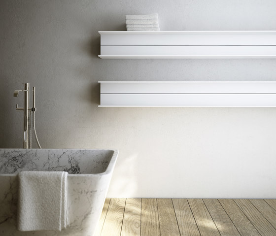 Serie T by antrax it | Bath shelving