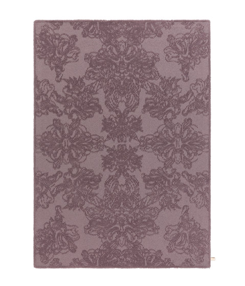 Classic | Damask Shimmering Heather 6001 di Kasthall | Tappeti / Tappeti d'autore