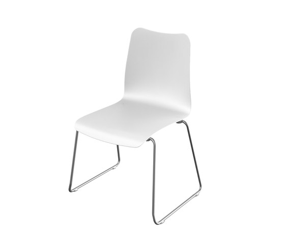 Slim Collection Dining | Stackable Chair de Viteo | Sièges de jardin