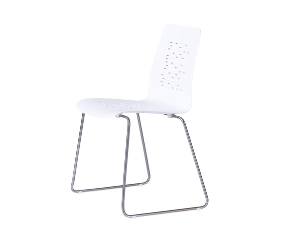 Slim Stackable Chair Milled by Viteo | Garden chairs