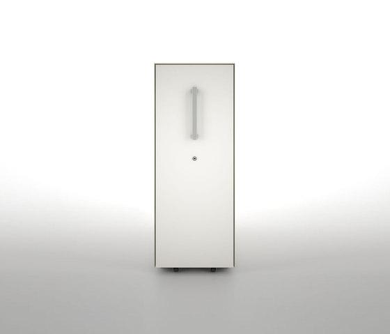 Vertical File | H1100 by Dieffebi | Pedestals