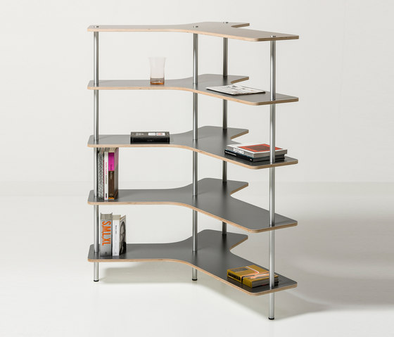 Spine by Cascando | Shelving systems