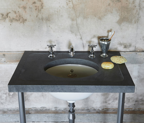 The Single Calder Vanity Basin by Drummonds | Vanity units