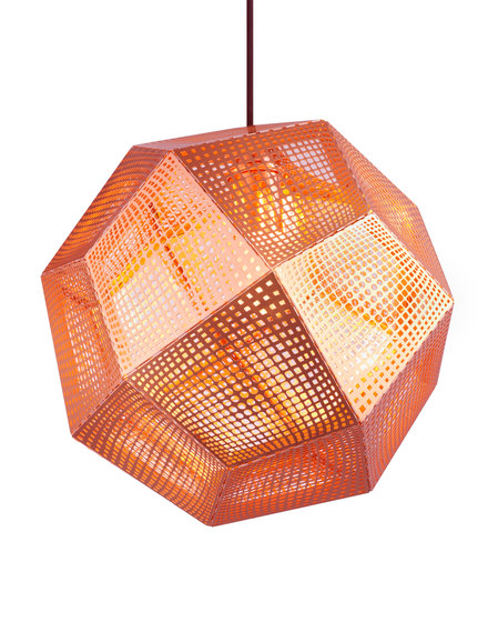 Etch Pendant Copper by Tom Dixon | Suspended lights