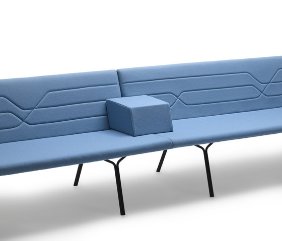 Linea by OFFECCT | Waiting area benches