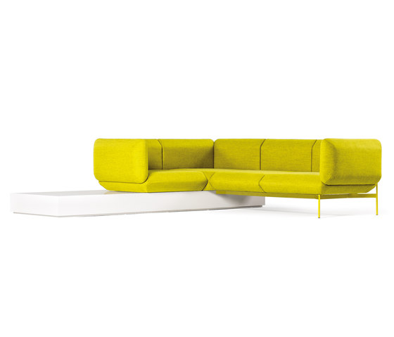 Segment sofa by Prostoria | Modular seating systems
