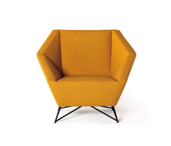 3angle armchair by Prostoria | Lounge chairs