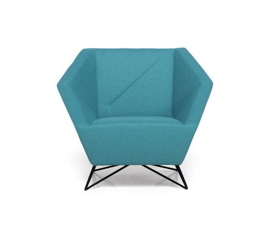 3angle armchair de Prostoria | Fauteuils