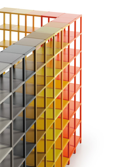 Shelf Ilusión Colors by Sistema Midi | Shelving