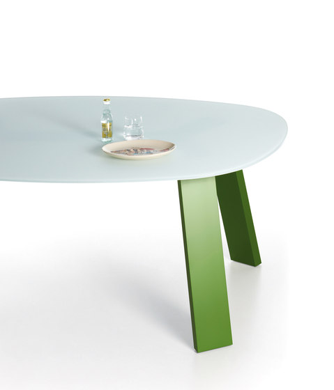 Table Sixty Glass de Sistema Midi | Tables basses