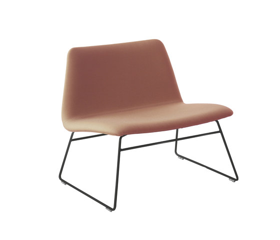 Spinal Chair 80 runner-legs by Paustian | Lounge chairs