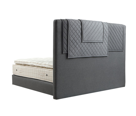Collection Platinum | Headboard Alente by Treca Interiors Paris | Double beds