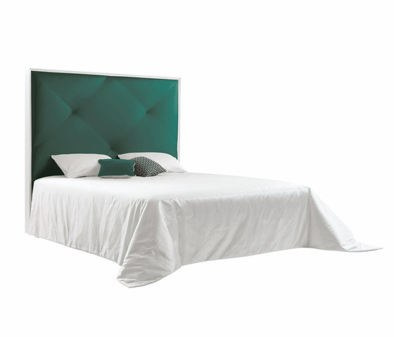 Sleeping Systems Collection Prestige | Headboard Adele by Treca Interiors Paris | Double beds