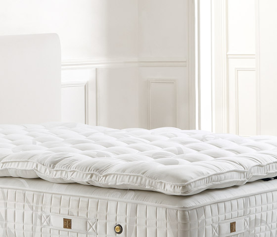 Sleeping Systems Collection Prestige | Mattress topper Pont Alma Prestige by Treca Interiors Paris | Mattress toppers