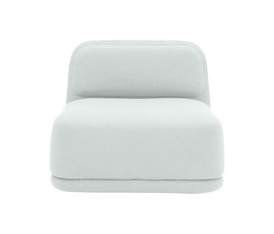 Standby chair low di Softline A/S | Sedute lounge da lavoro
