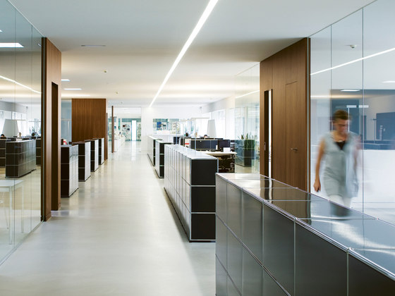 USM Haller Reception station by USM | Reception desks