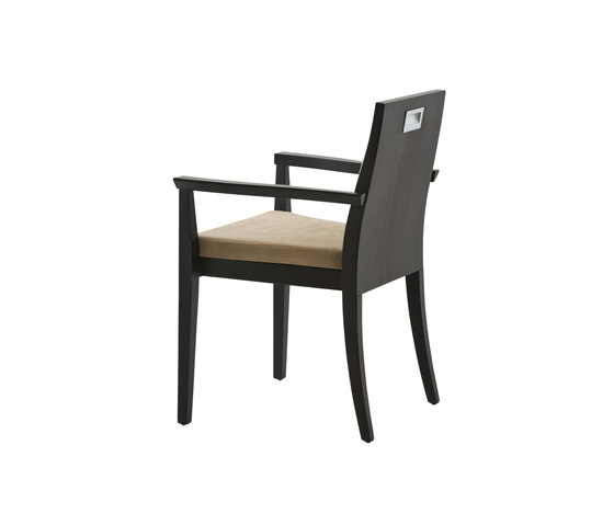 Capital chair with armrests by Billiani | Restaurant chairs
