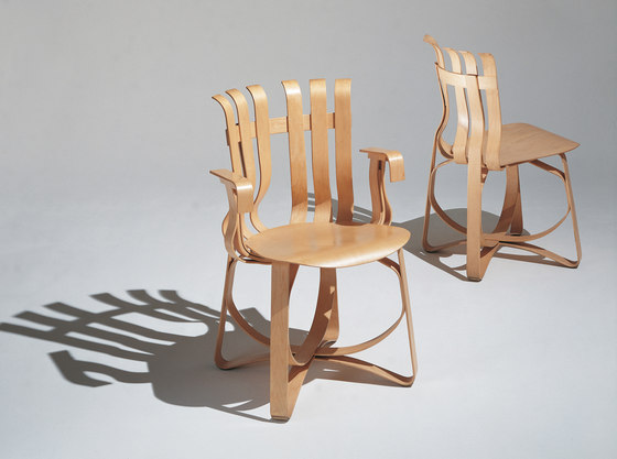 Gehry Hat Trick Chair by Knoll International | Restaurant chairs