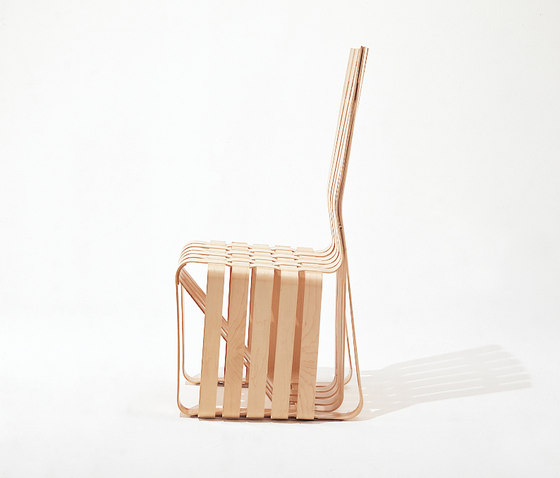 Gehry High Sticking Chair de Knoll International | Sillas para restaurantes
