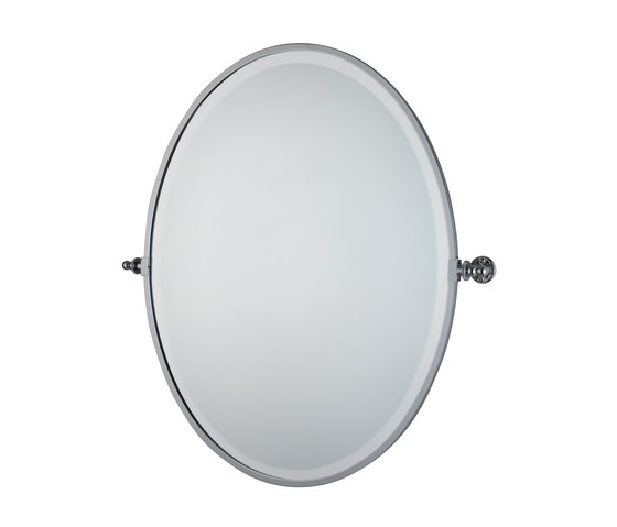 Oval Round Mirror by Drummonds | Wall mirrors